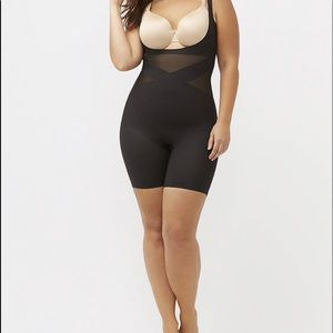 Shape By Cacique Open-Bust Thigh Shaper 14/16